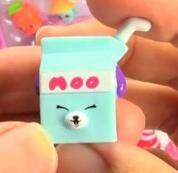 Milk bud blue toy