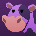 Purple cow badge.png