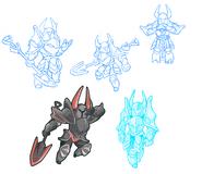 Body Swap Black Knight Concept