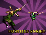 Body Swap Propeller Knight Card