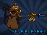 Body Swap Treasure Knight Card