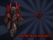 Body Swap Black Knight Card