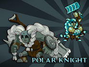Body Swap Polar Knight Card