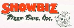 ShowBiz Pizza Time Logo used from 1989 to 1998