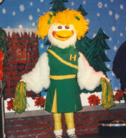 Latex Green Cheerleder Helen
