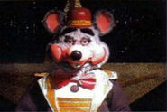Chuck E. Cheese 3-stage
