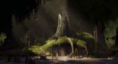 Shrek swamp 2001