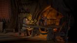Shrek swamp dinner table