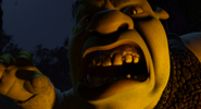 Shrek roar mob
