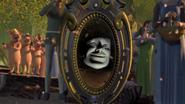 Magic mirror wedding crying
