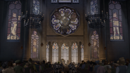 Duloc cathedral wedding fight