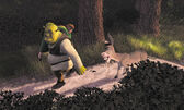 Shrek carrying fiona