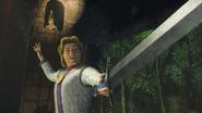 Prince charming sword shrek 3