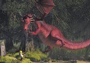 Dragon Shrek's Swamp