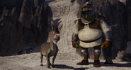Shrek armor knight donkey rescue