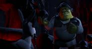 Shrek armor rescue