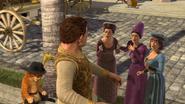 Shrek human ladies admiring