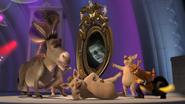 Magic mirror dance