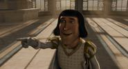 Farquaad points at Shrek laugh