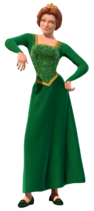 Fiona standing human