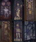 Farquaad stained glass cathedral