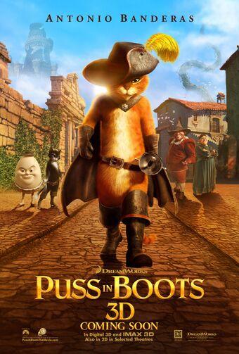 Puss In Boots Film Wikishrek Fandom