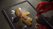 Gingerbread man legs farquaad