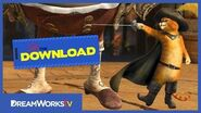 -DELETED SCENE- Puss in Boots vs the Giant - THE DREAMWORKS DOWNLOAD