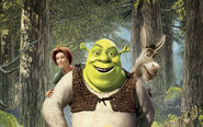 Shrek 2 donkey fiona wallpaper
