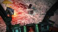 Nagate attacks Gauna G487