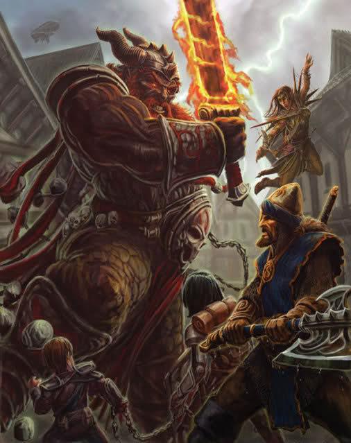 Fire Giant (Racial Prestige Class)