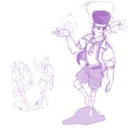 Original joycon men sketches (Andre)