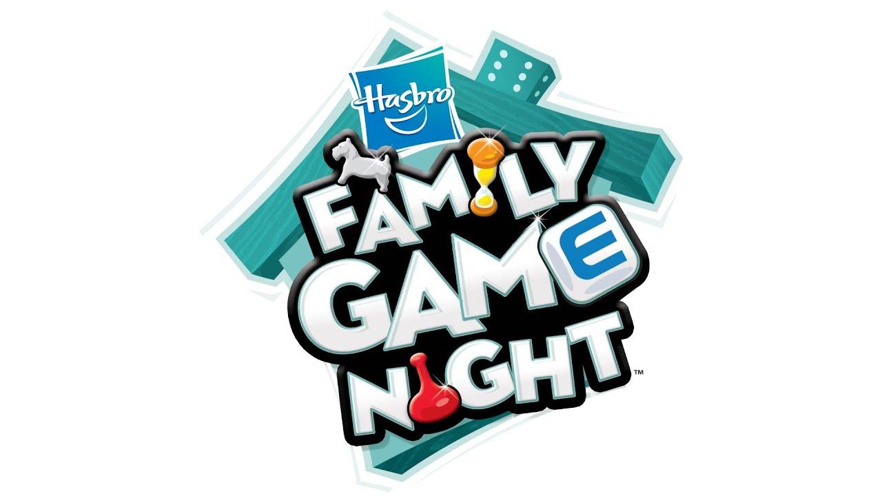 Start Screen - Hasbro Family Game Night