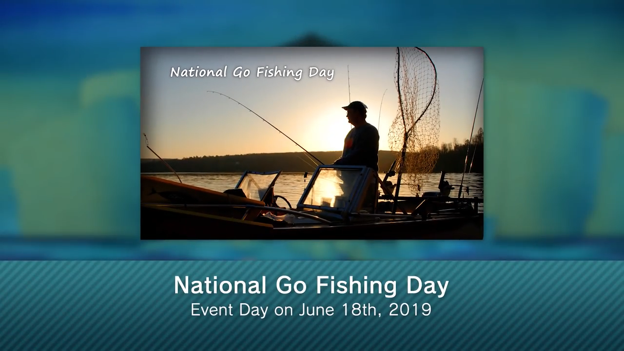 National Go Fishing Day