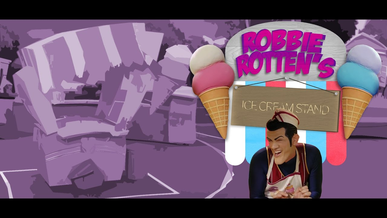 Bonus Level - Robbie Rotten's Ice Cream Stand