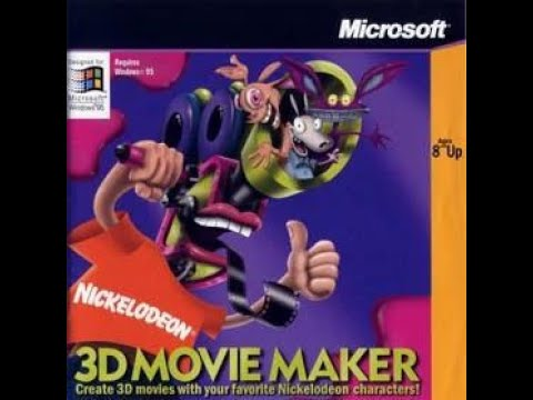 Title Theme - Nickelodeon 3D Movie Maker