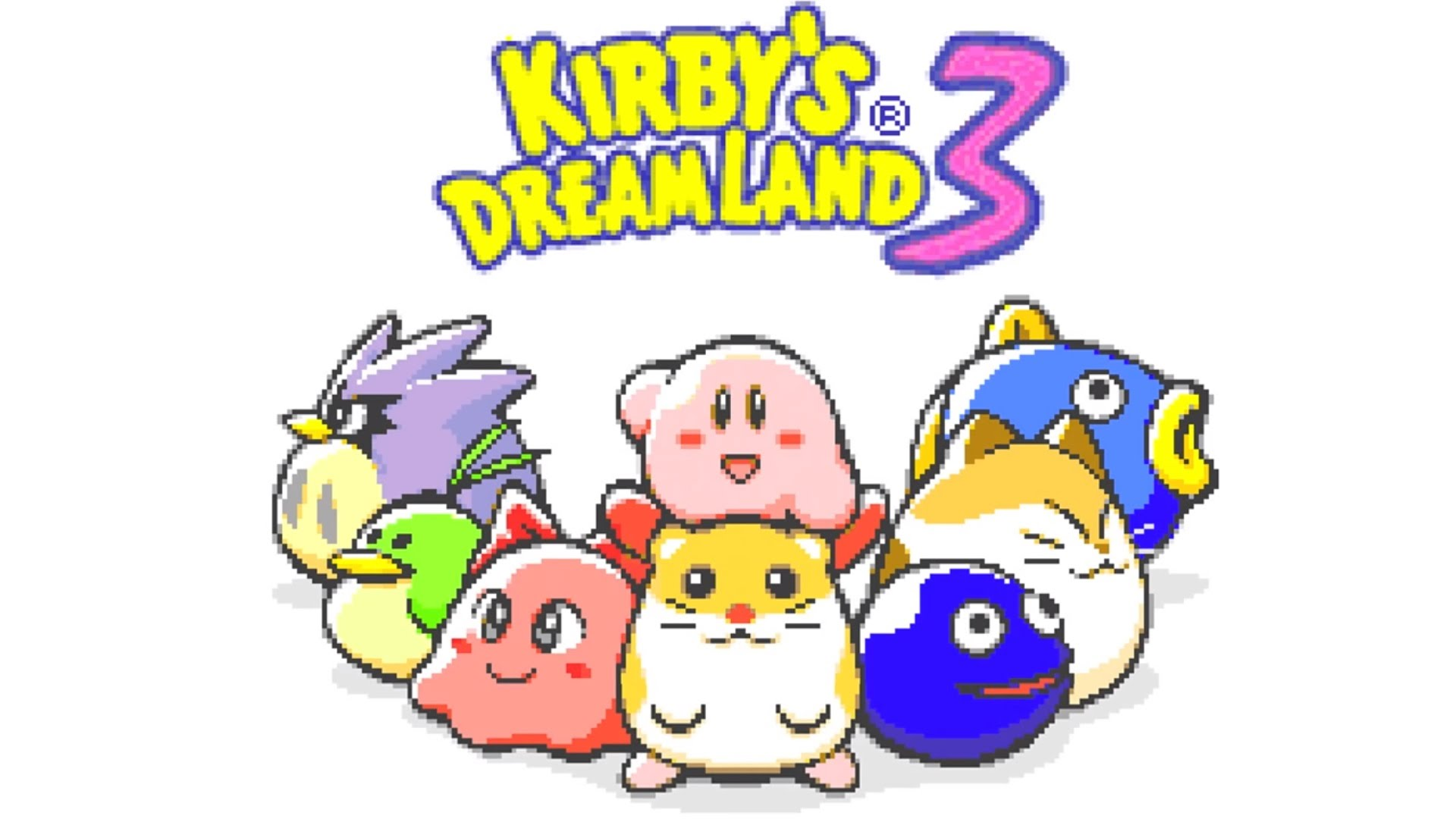Cloudy Park - Kirby's Dream Land 3