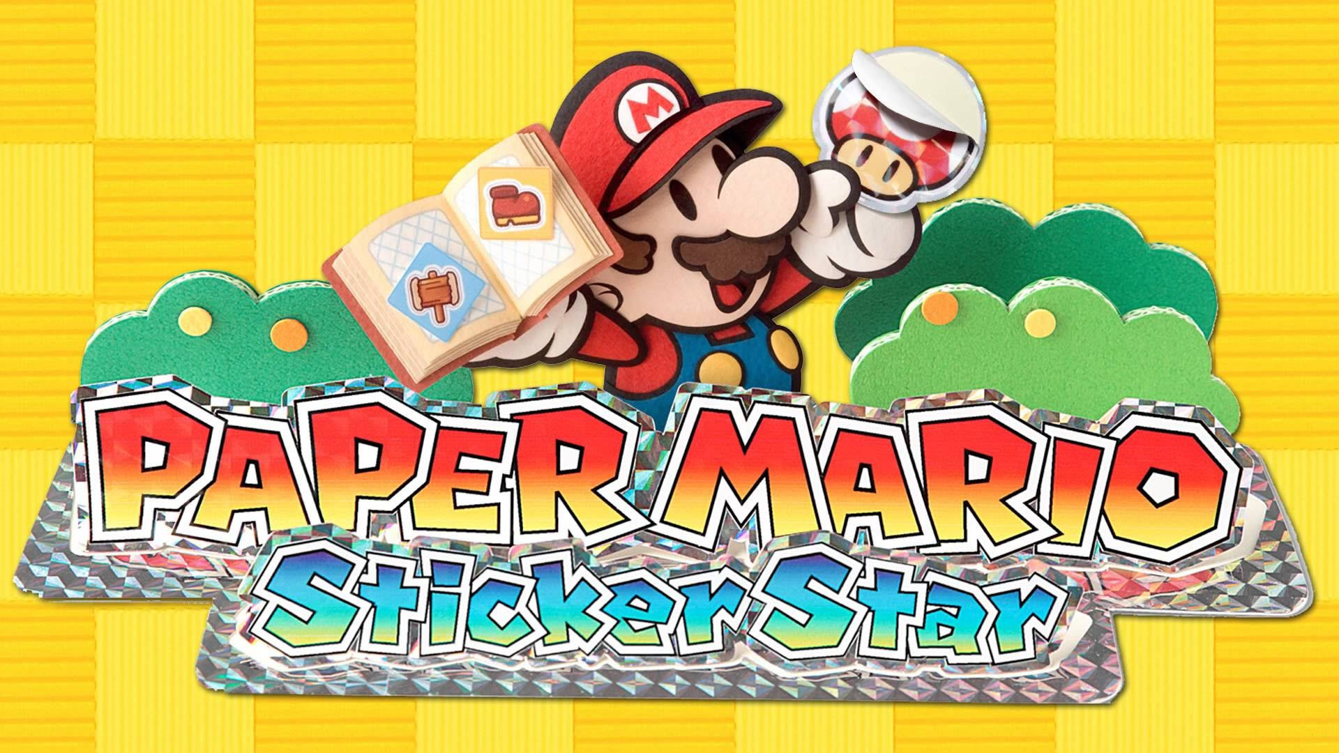 Megasparkle Goomba - Paper Mario: Sticker Star