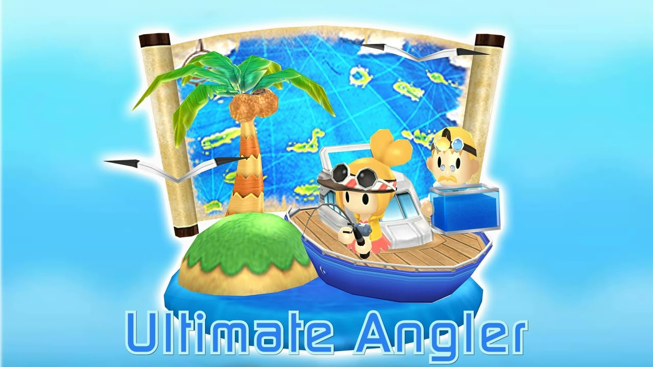 Welcome to the StreetPass Islands - Ultimate Angler / StreetPass Fishing