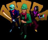Daft Punk ft. Pharrell - Daft Buster (Heroes of Legend) (AndDrew)