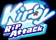 GilvaSunner - Kirby Rip Attack - kirby rip attack logo