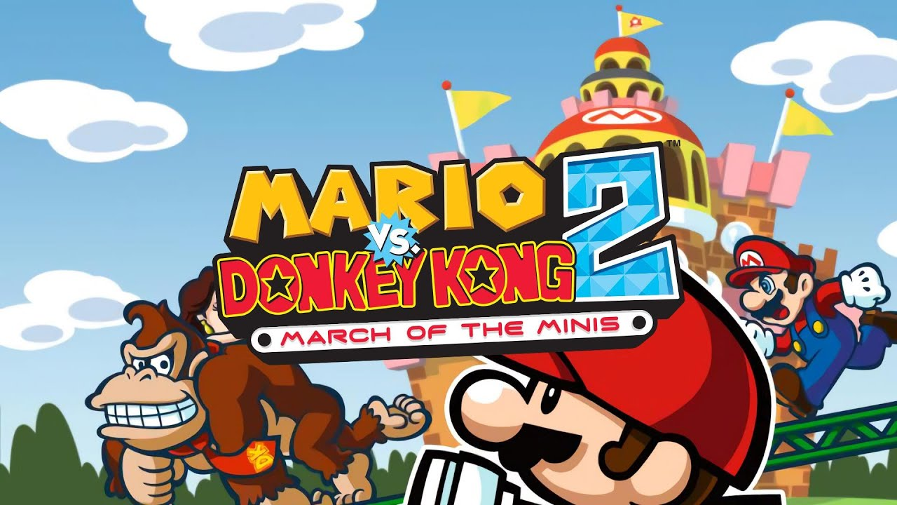 1st Floor, Mushroom Mayhem I - Mario vs. Donkey Kong 2: March of the Minis