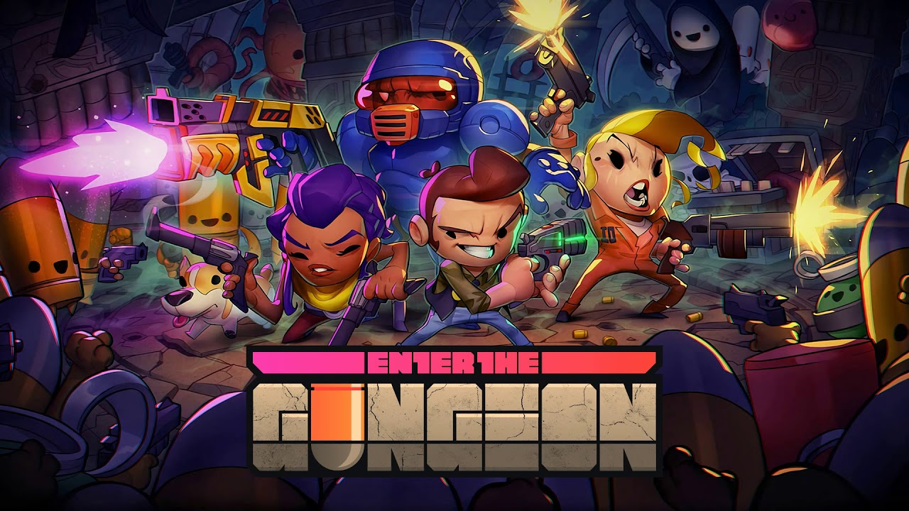 Cadence and Ox Forever - Enter the Gungeon
