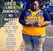 SIIVAGUNNER CRANK SQUAD - SUPER GANGSTA BROS. MIXTAPE (PROD. HALTMANN WORK$$$) - Inspirational Bread Man
