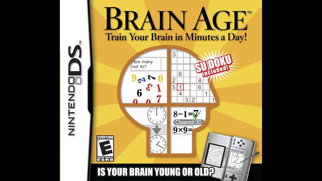 Menu - Brain Age: Train Your Brain in Minutes a Day!