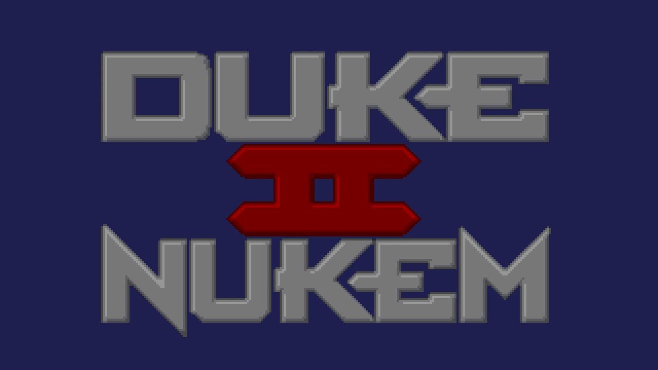 Menu Select - Duke Nukem II