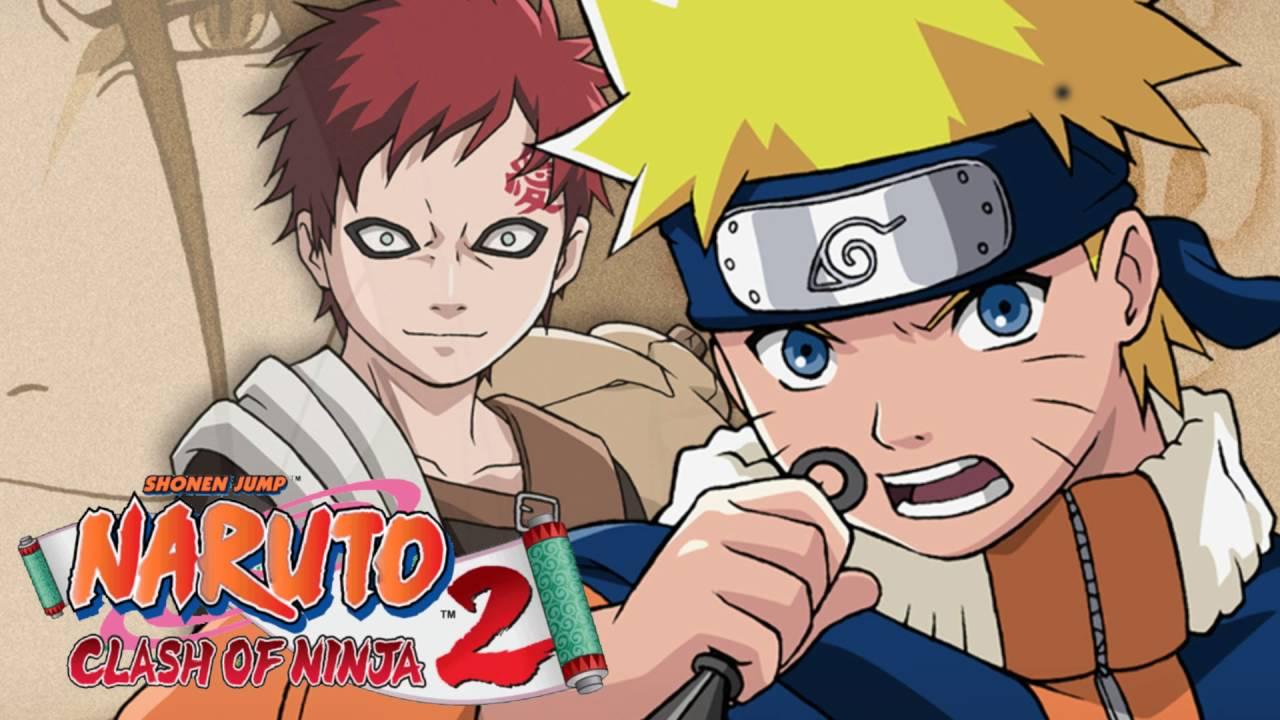 Academy Schoolyard at Day - Naruto: Clash of Ninja 2