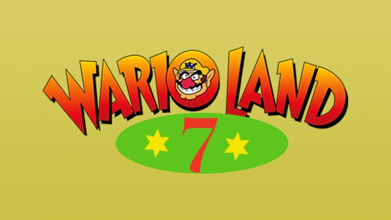 Title Screen - Wario Land 7