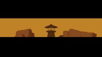 First banner