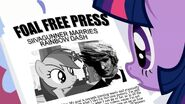 Morning in Ponyville - My Little Pony- Friendship is Magic Newspaper